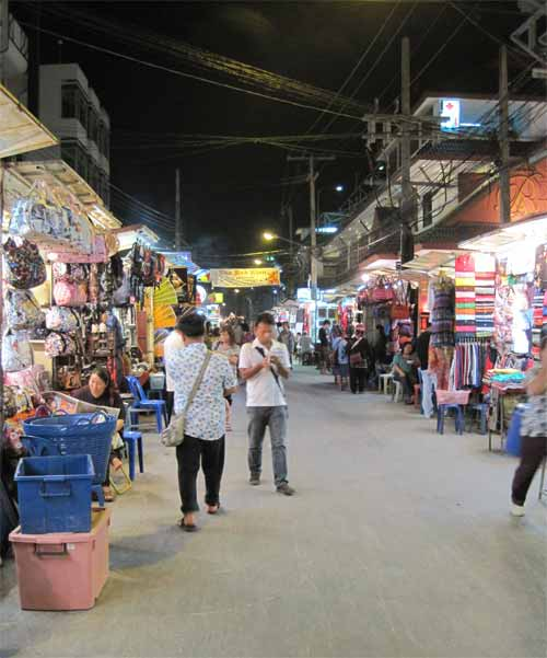 Chiang Mai night street