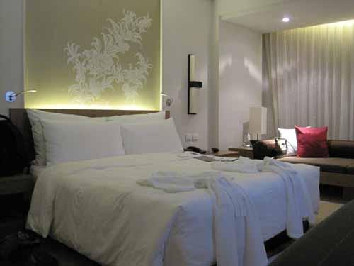 Le Meridien Chiang Mai bedroom