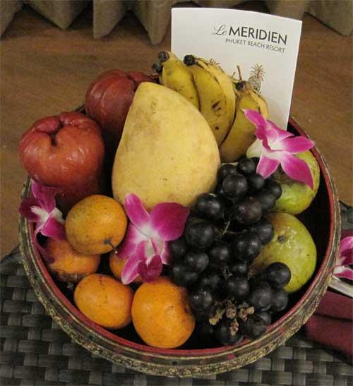 Le Meridien Phuket Fruit Basket