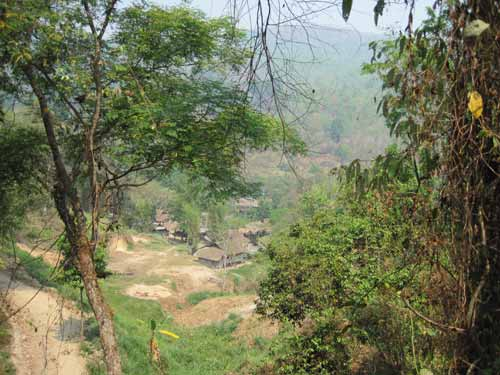 Maesa Elephant Camp: view
