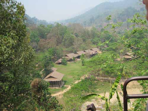 Maesa Elephant Camp: camp view