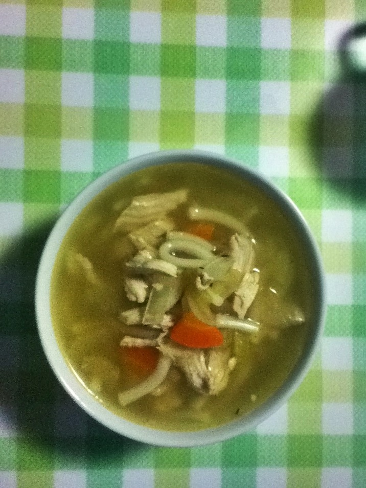 tada - chicken noodle soup