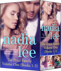 The Pryce Family Volume 1 (Books 1-3) by Nadia Lee