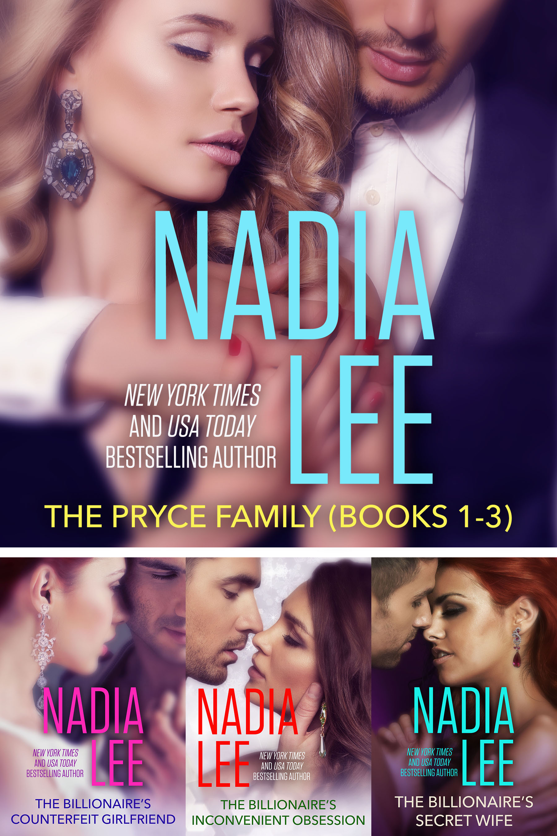 The Pryce Family (Books 1-3) | Nadia Lee | NYT and USA Today