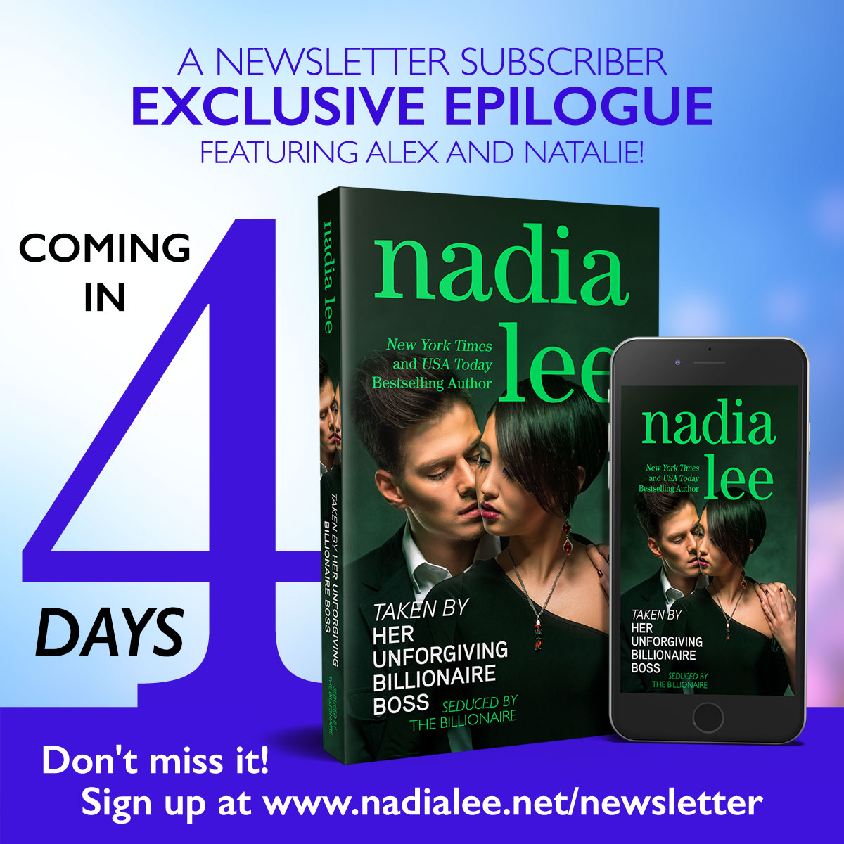 Exclusive Epilogue in 4 Days!