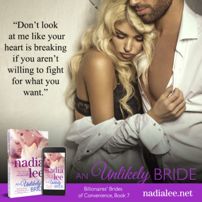 An Unlikely Bride by Nadia Lee teaser